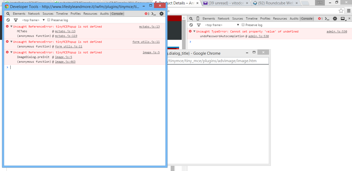 experiencing problems with TinyMCE - Page 2 - CMSimple_XH–Forum